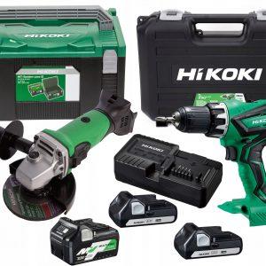 Urządzenia akumulatorowe Hikoki